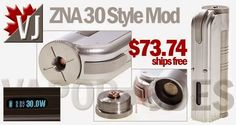 Vapor Joes - Daily Vaping Deals: DROP: THE ZNA REPLICA GOES LIVE @  $73.74