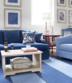 coastal cottage, living rooms, cottage furniture, main cottag, maine cottage