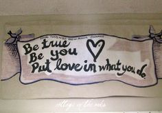 family mission statement banner #diy How-to