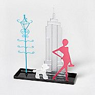 NYC Wire Jewelry Holder