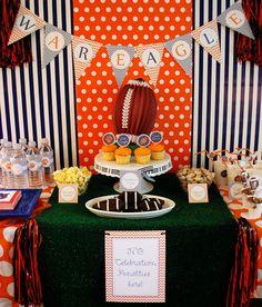 PRINTABLE Auburn Football Party Decor