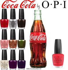 OPI Coca-Cola Collection Coming in June 2014