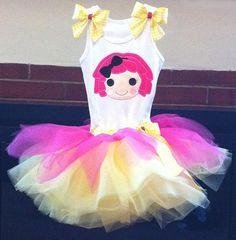 Lalaloopsy Sugar Crumbs tutu dress by ChasenLondon on Etsy, $65.00