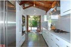 Josh Hutcherson Hollywood Hills Home-Kitchen
