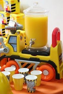 Construction Party    ~  #Kids, #Construction, #Party