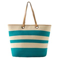 Capri tote for the beach