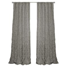 Claribel Curtain in Gray at Joss & Main $30 for one panel. Love the texture!