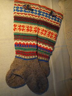 more fair isle socks  more, too, in her 'knitting' and 'socks' sets.