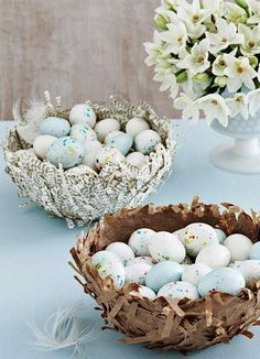 DIY: Easter candy nests