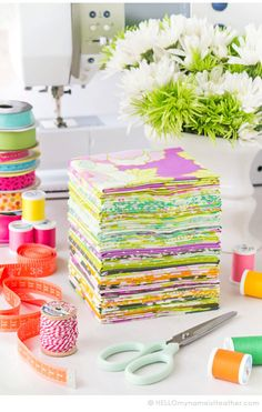 Fat Quarter Each, ENTIRE Lottie Da Collection, 32 Prints,  Heather Bailey, Quilting Cotton