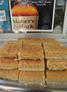 Makers Mark shortbread. Done and Done