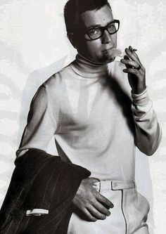 Ewan McGregor smoking cigarette
