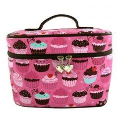 Pin Up Accessories -  Make up Bag - Cupcakes
