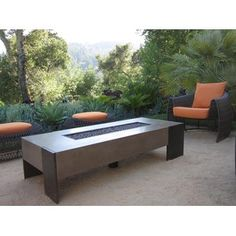 Concreteworks Fire Table - Outdoor Fire Pits - Modenus Catalog