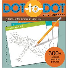 Dot to Dot 2012 Desk Calendar