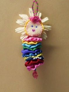 Yoyo Dotee Doll!! sew, craft, yo yos, yoyo doll, quilt patterns, ornament, dotte doll, tassel, dote doll