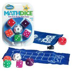 Math Dice Jr. marblesthebrainstore.com