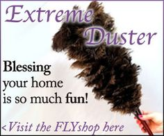 Feather dusting is the fastest way to get rid of your dust. It takes me 2 minutes to dust my whole home.