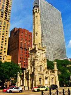 The Chicago Water Tower on the Magnificent Mile