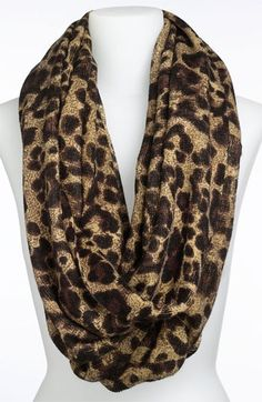 MICHAEL Michael Kors Animal Print Infinity Scarf | Nordstrom @ The Beauty ThesisThe Beauty Thesis