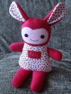 Rag doll softie rabbit