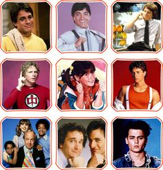 80s TV Show Stars and Families #EasyPin