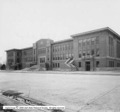 Provo High School p.1 :: Utah State Historical Society - Classified Photographs