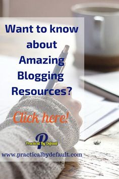List of blogging too