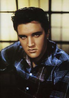 Elvis Presley publicity still for'Jailhouse Rock', 1957. Photo by Virgil Apger.