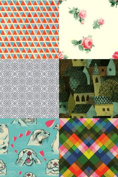 Seamless patterns for websites and desktops | How About Orange