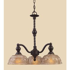 Lowes Westmore Lighting�3-Light Norwich Oiled Bronze Chandelier 259.62