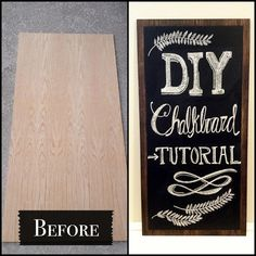 Decorgreat: DIY Chalkboard Tutorial