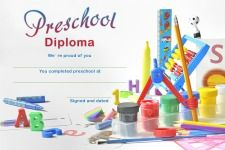 Preschool Printable Graduation Certificate.        Show your preschooler how proud you
