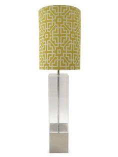 Lucite Lamp by Tiger Lily at Gilt