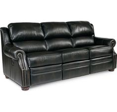 Chadwick Reclining Sofa living rooms, famili room, room idea, black leather, live room, leather couches