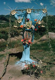 Mexico, Guadalupe altar