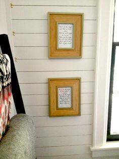 write out meaningful song lyrics/poem and frame, can spray paint frame gold