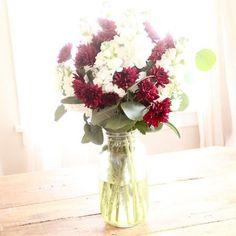 Simple 2 Flower Arrangement