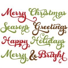 kate cuttabl, svg file, scrapbook svg, digital scrapbooking, christmas, christma phrase