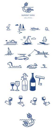 graphic, summer icon