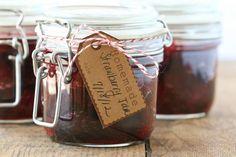 Homemade Organic Strawberry Jam  @ Deliciously Organic
