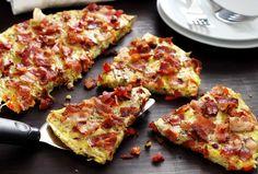 """Paleo Potato & Bacon """"Pancake"""""""