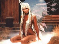 butterfli, drag queens, icon, costum, indian outfits, silver hair, poster, cher, fairi