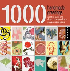 Fab book w/handmade greeting card gallery. I'm a guest contributor too!