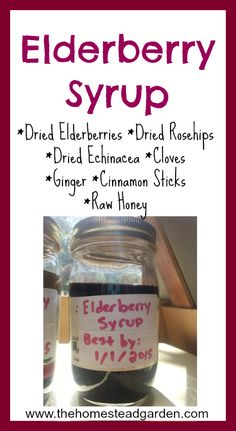 How to Make Elderberry Syrup