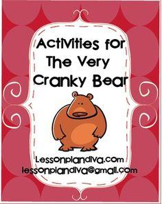 Free! The Very Cranky Bear Activities