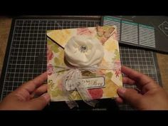 ▶ Explosion Envelope using Envelope punch board YouTube video by Bona