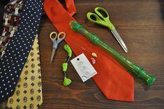 Recorder necktie case step1