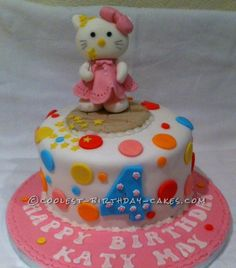 Coolest Mr. Tumbles Hello Kitty Cake...