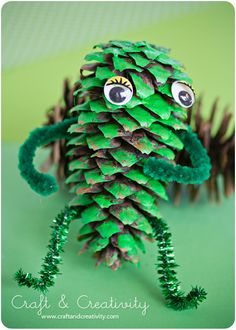 Pine Cone Monster